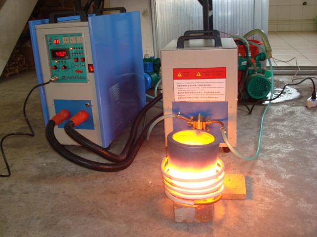 Saving Energy Small Induction Melting Furnace Gold