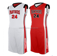 Top quality sublimation custom basketball uniform