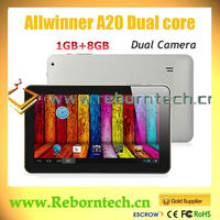 cheap 9 inch allwinner a20 dual core android tablet