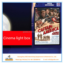 Factory price aluminum led poster frame light frame for movie poster size 27x41 inches