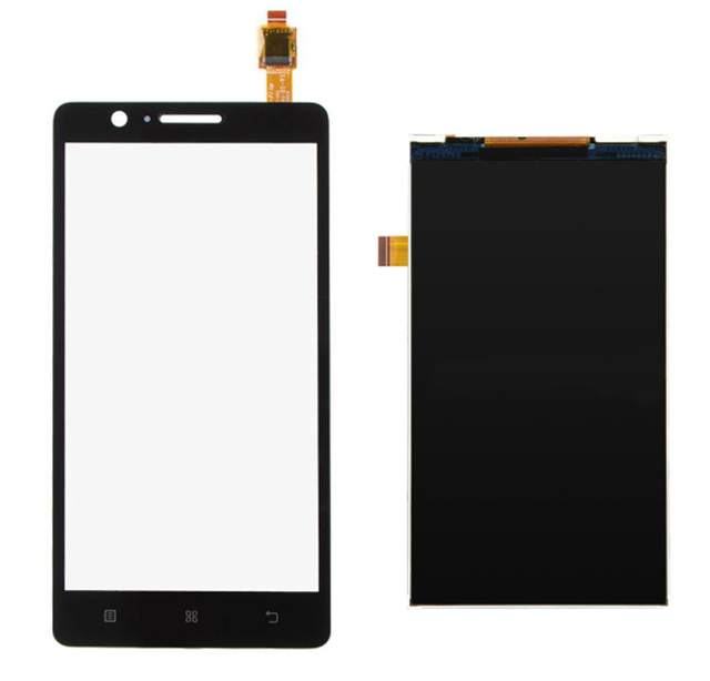For Lenovo A536 A358 Black Touch Screen Panel Digitizer Sensor Lens Glass + LCD Display Screen Panel Monitor Moudle 100% Test