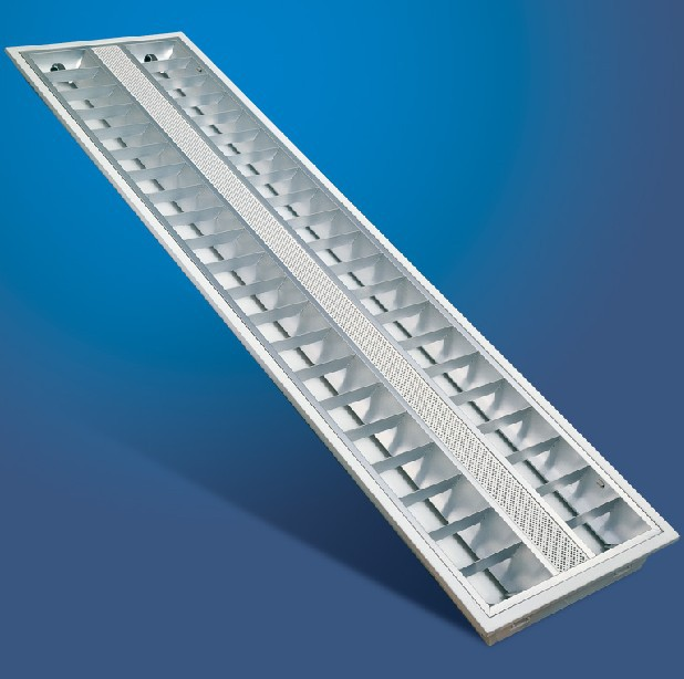 4X14W T5 Recessed Grille Light. Recessed Grille Light Fixture