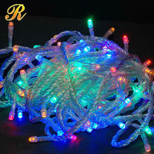 Remote control led copper wire string lights christmas lights led