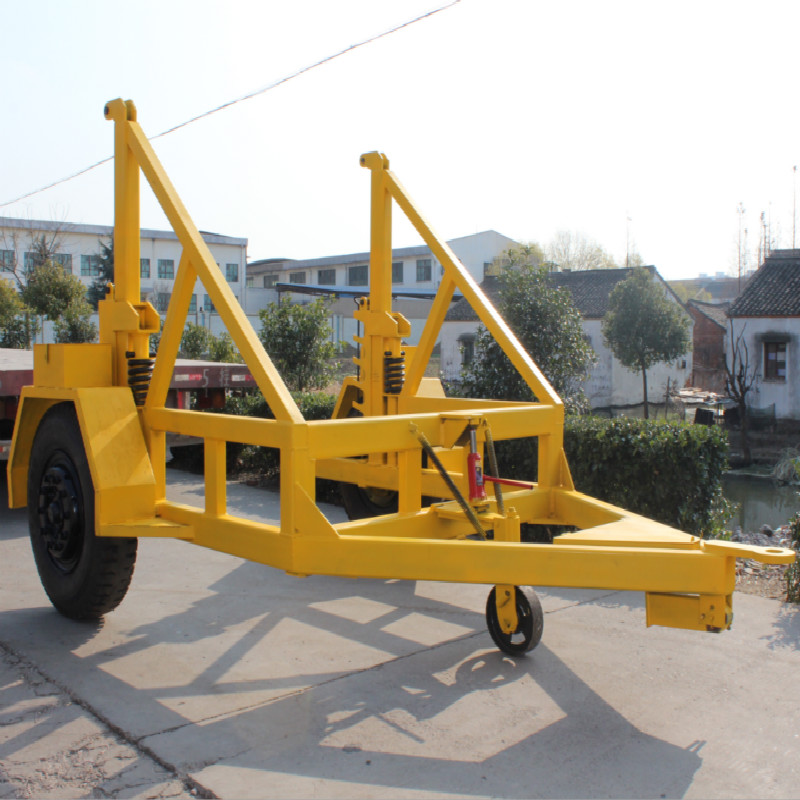 8T Cable Drum Trailer Cable Drum Carrier
