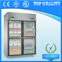 Supermarket Beverage Beer Display Refrigerator,Upright Showcase Chiller