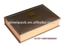 Leather collectable box