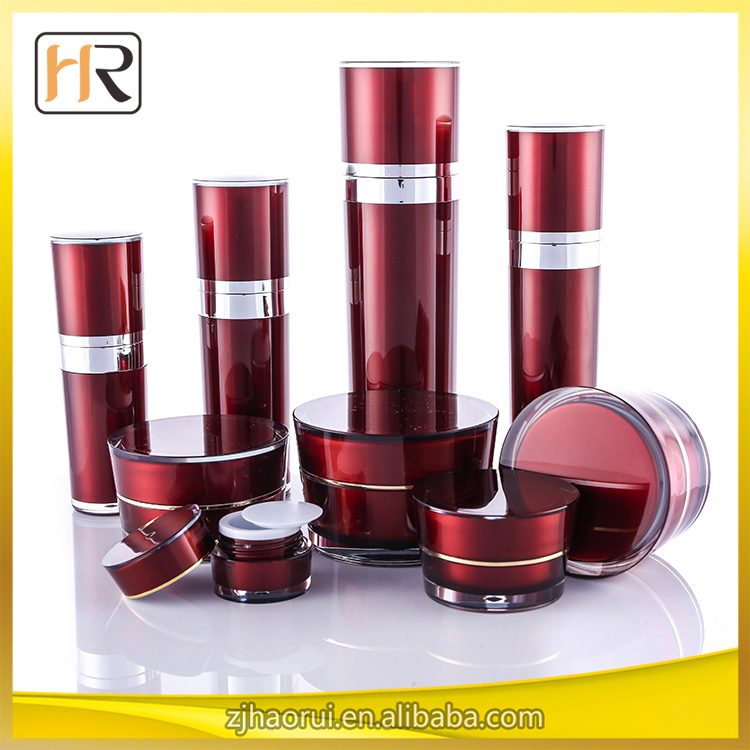 Acrylic Cosmetic Use Cosmetics Packing Bottles and Jars