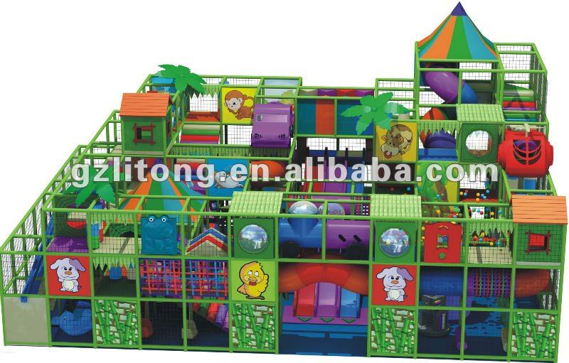 2012 Naughty palace safe Indoor Playground Equipment