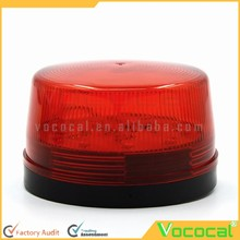 DC 12V LED Anti-theft/Fire/Fault Alarm Lamp Strobe Light Red Warning Light