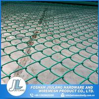 Hot selling rodent proof galvanized heavy chain link fence