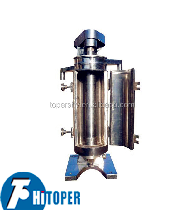 3 Phase Separator, High Speed Tubular Centrifuge for Marine Fuel Water Separator