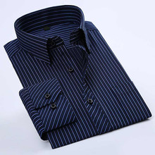 latest dress stripe shirt for men pictures