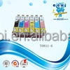 T0811 T0816 premium remanufactured color inkjet cartridge,T0811 T0816 compatible ink cartridge China supplier