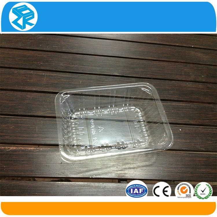 High quality pet plastic packaging tray