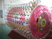 TPU inflatable water rolling ball, best selling inflatable water roller, water wheel for sale