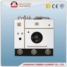 Energy saving enclosed four tanks hydrocarbon home dry cleaning machine equipment