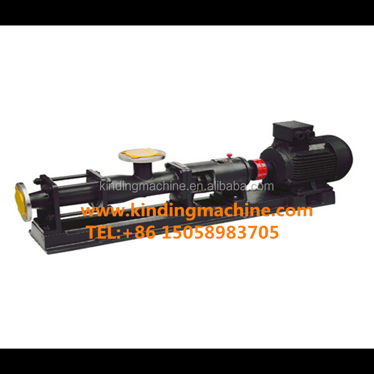 G type mono screw pump sewage mud pumps progressive cavity pump