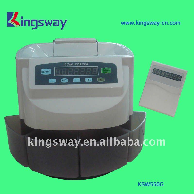 2013 Portable Coin Sorting Machine (KSW550G)