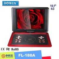 manufacture wholesale OEM large screen portable dvd player 14inch popular PDVD wholesale sex photos player cheapest portable dvd