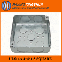 China supplier explosion proof ul standard electrical 4 inch square outlet floor box
