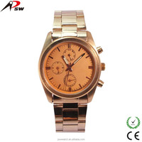 alloy metal fake 3 dials wholesale watches quartz chinese wrist watch