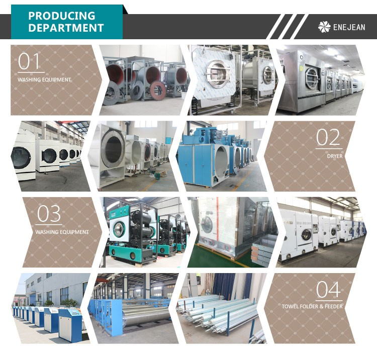 hotel laundry washing machine, washer and extractor, commercial laundry equipment