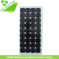 100 Watt Mono Crystalline Solar Module Panel with High Efficiency