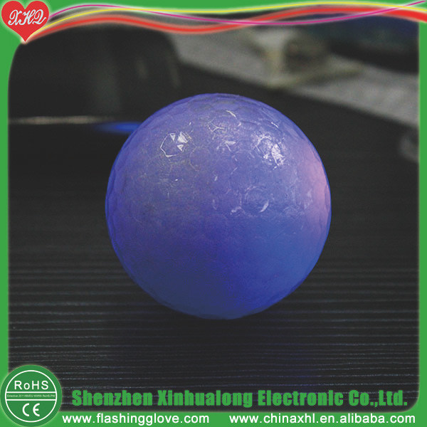 Brand new high quality blue glow light LED golf balls