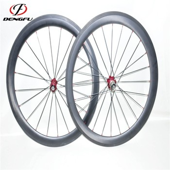 carbon fiber road wheelset 700C tubular rim 50mm carbon road wheels