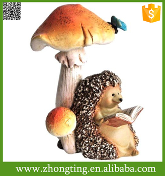 Cheap home decotation ceramic garden mushroom statues