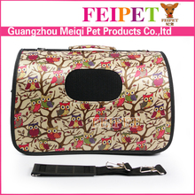 New arrival portable pet bag owl pattern lovable dog carrier