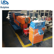 Pp pe ldpe hdpe waste plastic film & woven bag recycling line machine