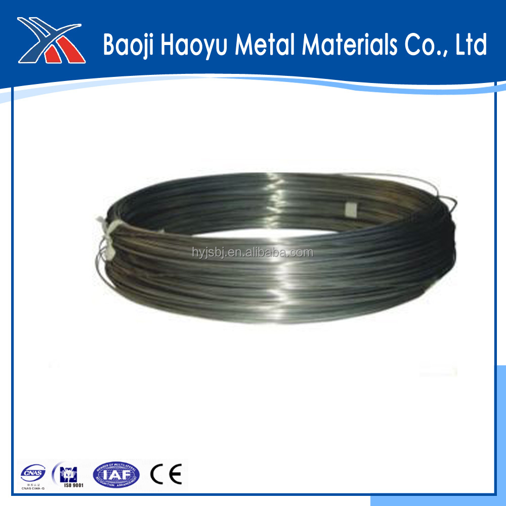 ASTM863 reel Coiled Titanium Wire for fishing