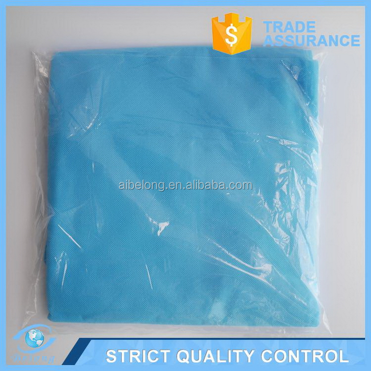 Alibaba china durable dental disposable surgical gown sterile
