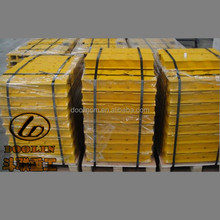 High quality Mitsubishi excavator undercarriage parts MS180 track shoe pad