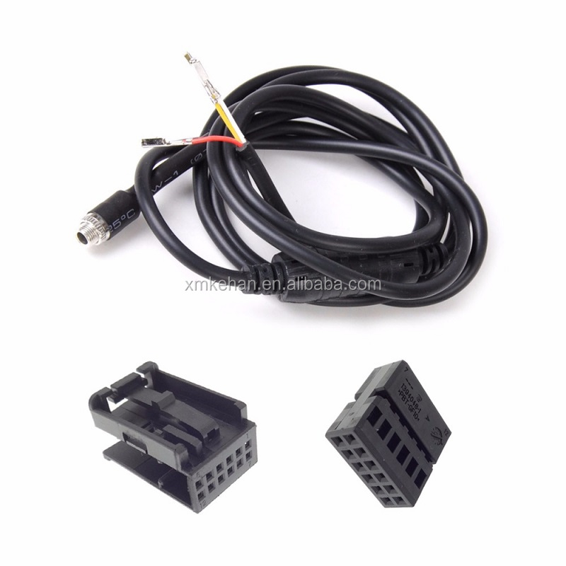 OEM/ODM custom ISO9001-2008 Car audio iso connector automotive harness wire assembly ,car wiring harness