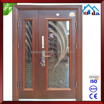 Safe Cheap Wrought Iron Door Designs
