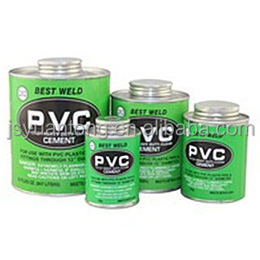 Heavy duty PVC pipe cement, PVC Solvent cement