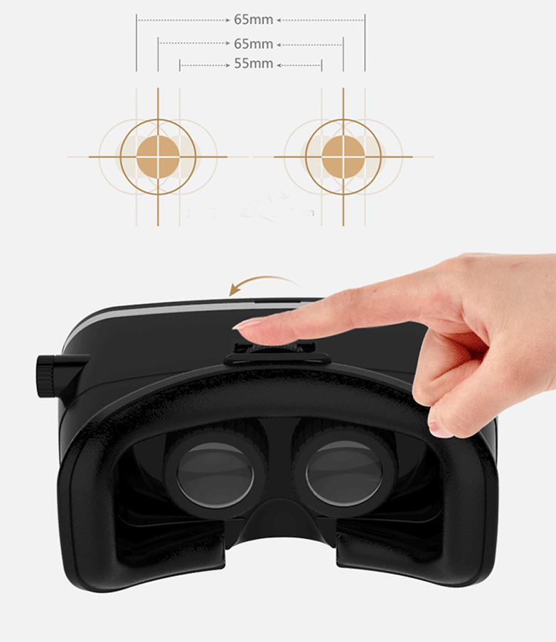 VR Box Glasses for smartphone Virtual Reality Glasses VR Shinecon 3D glasses