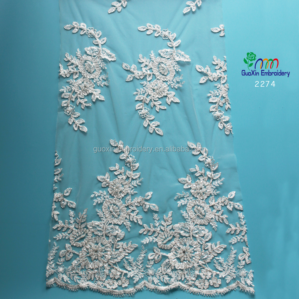 List Manufacturers of Silver Tulle French Lace, Buy Silver Tulle ...