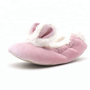 All Kinds of Slippers Popular Classical Design Ladies and Girls Bunny Ballet Slipper