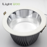 7w 12W 15W adjustable fire rated slim surface mounted round square black white led downlight with 95mm cut out