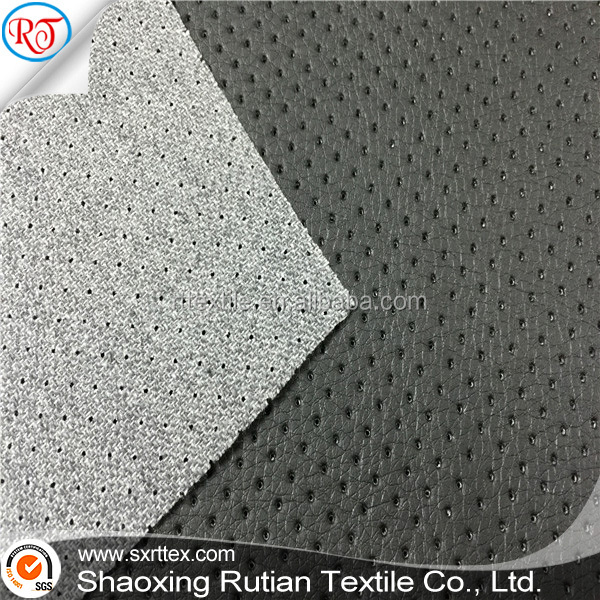 artificial leather for sofa, wet-process crumpled pu leather