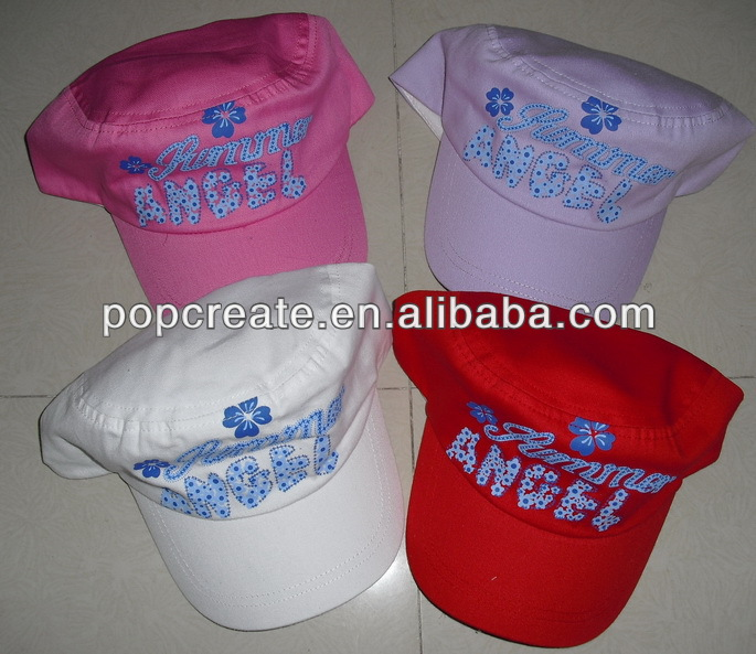 2014 cheap printing promotional army hat