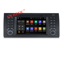 "Android 6.0 Quad Core GPS Navigation 7"" Car DVD Player for 5 Series E39 M5 1997-2003 X5 E53 with 2G RAM 16G ROM 4G LTE"