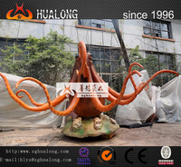 Outdoor And Indoor Playground Equiment Life-Size Octopus model