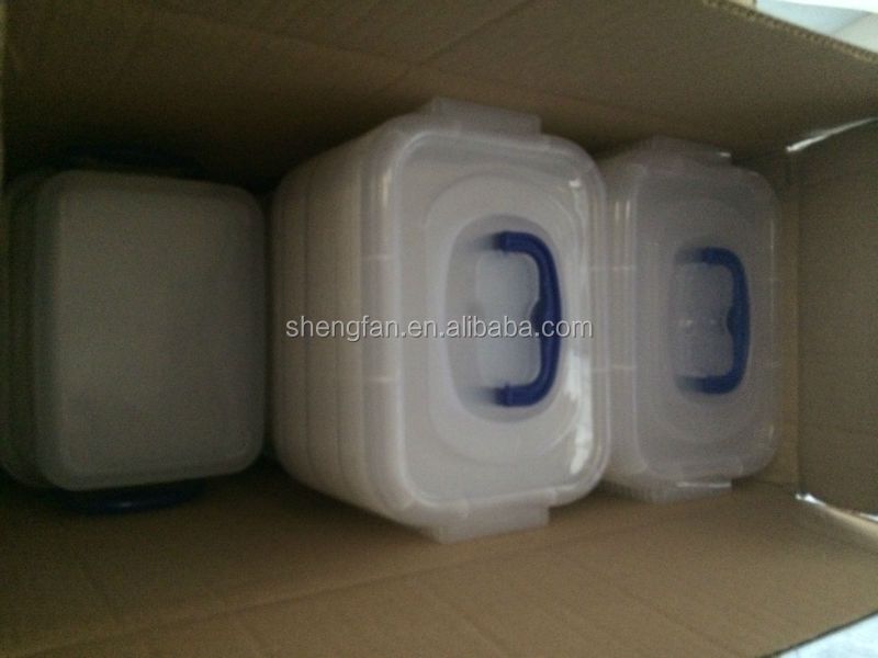 plastic storage box transparent case10L