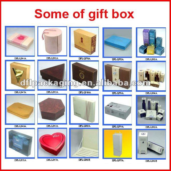 elegant gift packaging box factory
