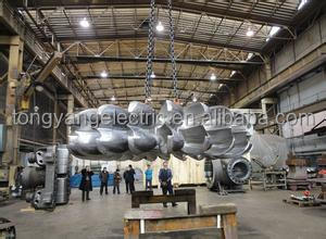 Aluminium Wind Turbine Blades With 5KW Stator and Rotor