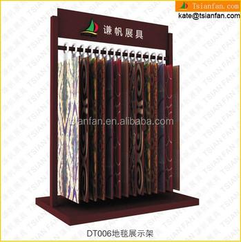 Dt006 Factory Price Rug Display Carpet Rack